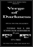 verge of darkness